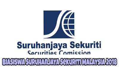 Biasiswa Suruhanjaya Sekuriti Malaysia 2018