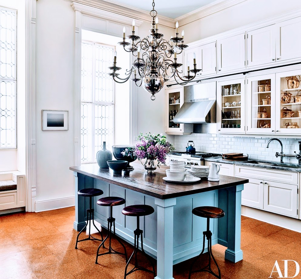 Inside Jessica Chastain's Home in New York City | Architectural Digest
