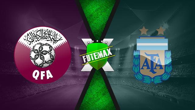 Assistir Qatar x Argentina ao vivo dia 23/06/2019 às 16h00 - Copa América - Transmissão da SPORTV2  (FUTEMAX)