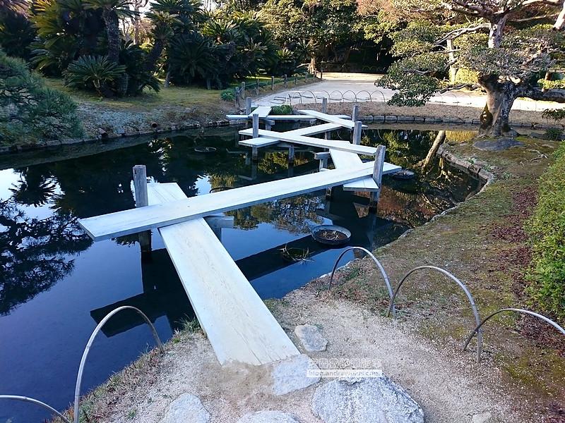 日本岡山後樂園,岡山景點,日本三大名園,桃太郎吉備丸子