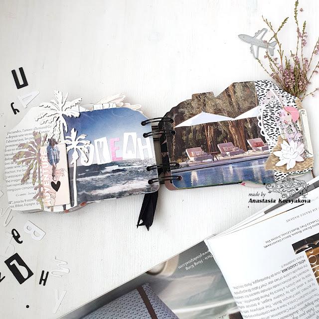 @nastyalena #minialbum #scrapbooking #scrapbookingdies #mimicut