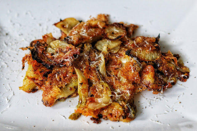 Fennel Baked in Cream and Parmesan