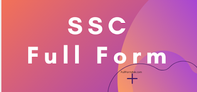SSC full meaning