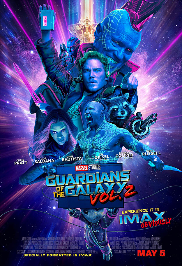 Proximos Estrenos : GUARDIANS OF THE GALAXY Vol. 2