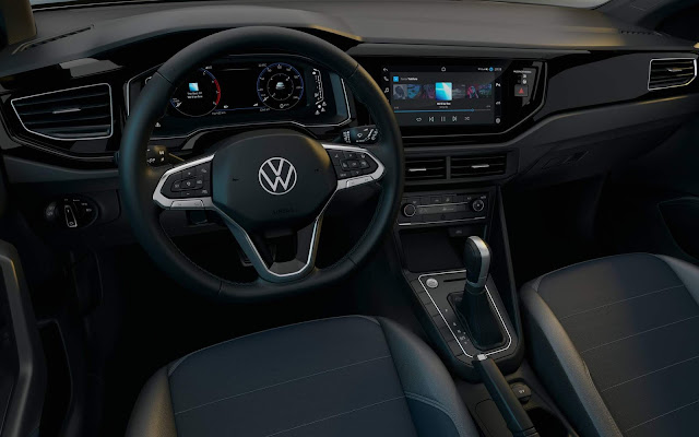 Novo VW Nivus 2021 - interior