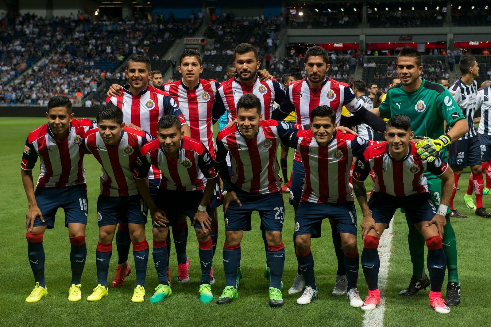 El once titular ante el Monterrey en Semifinales de Copa MX.