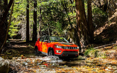 2017 jeep compass off road widescreen resolution hd wallpaper