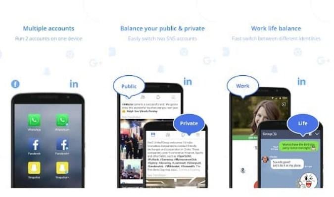 Aplikasi tuk Jalankan Dua Akun WhatsApp - Parallel U