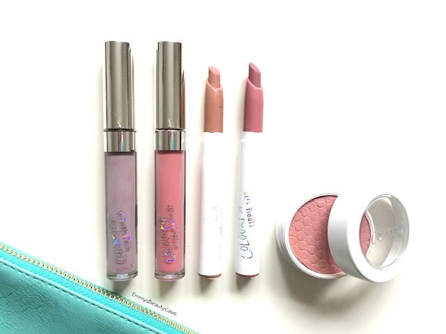 ColourPop Lippie Stix, ColourPop Ultra Satin Liquid Lipstick Marshmallow, ColourPop Blush Birthday Suit