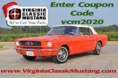 Coupon Code Virginia Classic Mustang