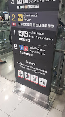 Bandara, Suvarnabhumi, Bangkok, Thailand