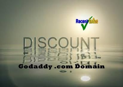 Godaddy Promo Codes for .com domain