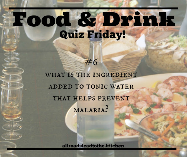 Food & Drink Quiz Friday #6