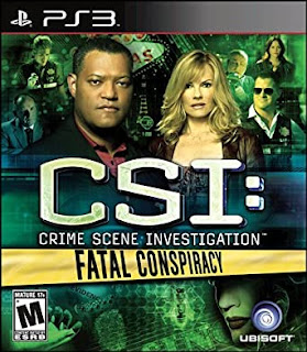 CSI Crime Scene Investigation Fatal Conspiracy PS3 Torrent