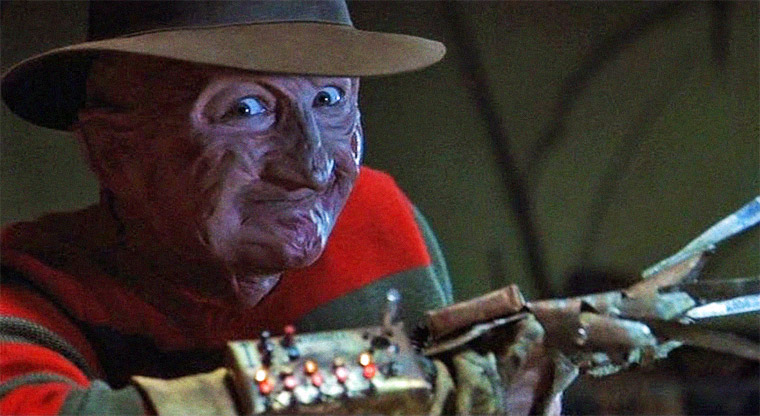Robert Englund in FREDDYS FINALE (FREDDY'S DEAD - THE FINAL NIGHTMARE, 1991). Quelle: Screenshot Warner Blu-ray (skaliert)