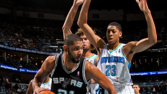 San Antonio Spurs vs New Orleans Hornets partido completo - NBA TSEBA