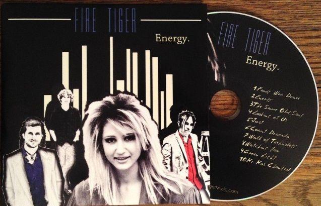 FIRE TIGER - Energy [ecopack CD version] cd