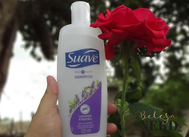 resenha shampoo suave lavanda e bambu