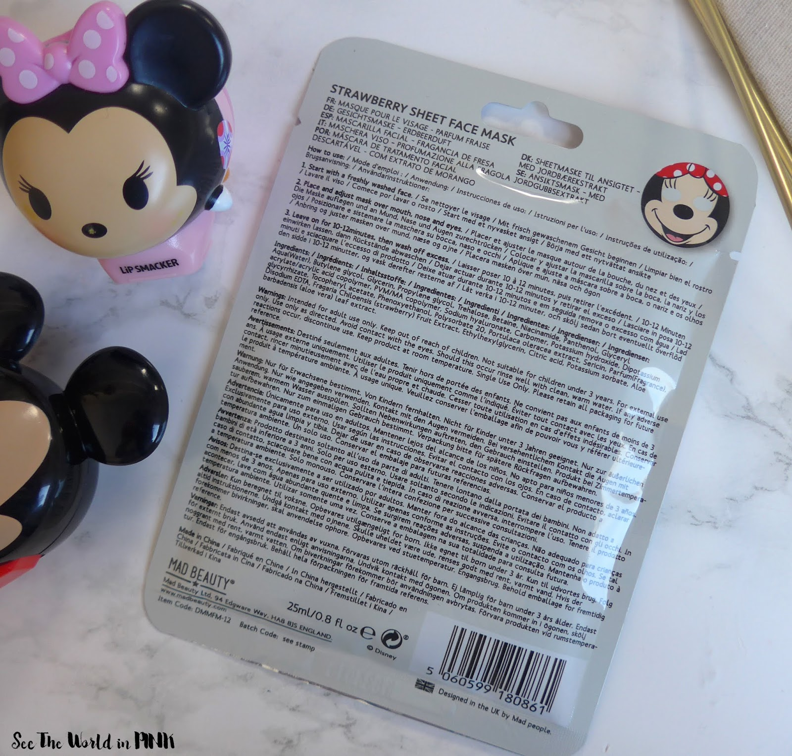 Mad Beauty Disney Minnie Magic Face Mask