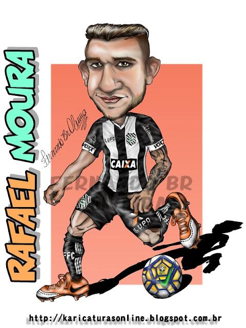 Caricatura Rafael Moura Figueirense 2016