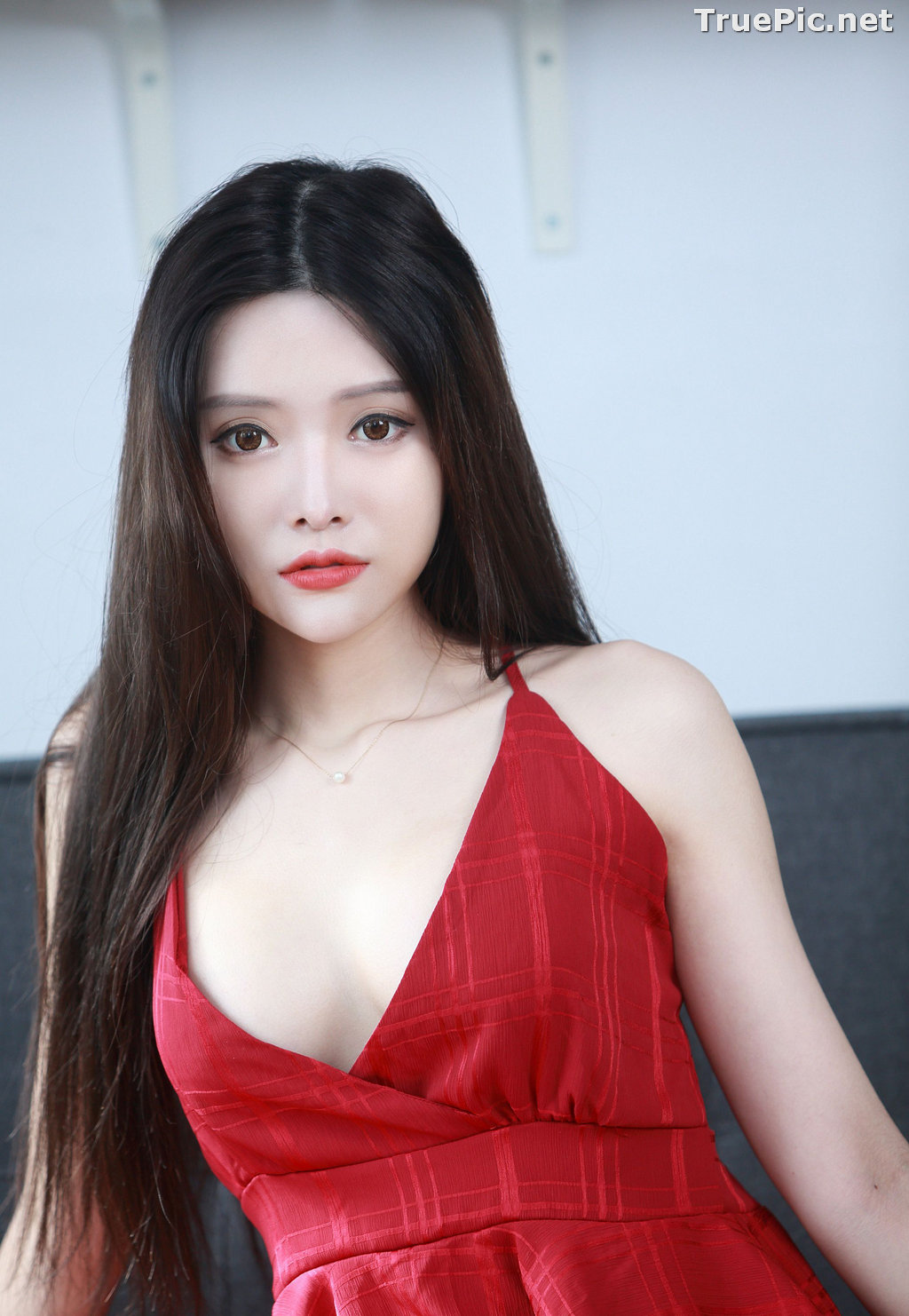 Image Taiwanese Model – 莊舒潔 (ViVi) – Sexy and Beautiful Christmas Girl - TruePic.net - Picture-3