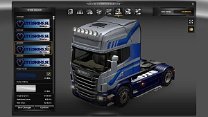 JSC 4 skins pack for Scania R