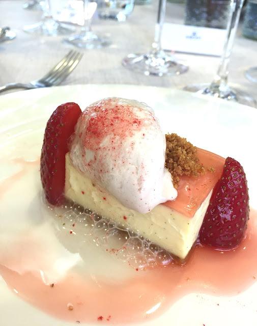 Dessert at  Panoramic Restaurant Ascot