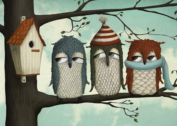 por Maja Lindberg | ilustraciones imaginativas infantiles divertidas, imagenes bonitas, illustration art, cool stuff.