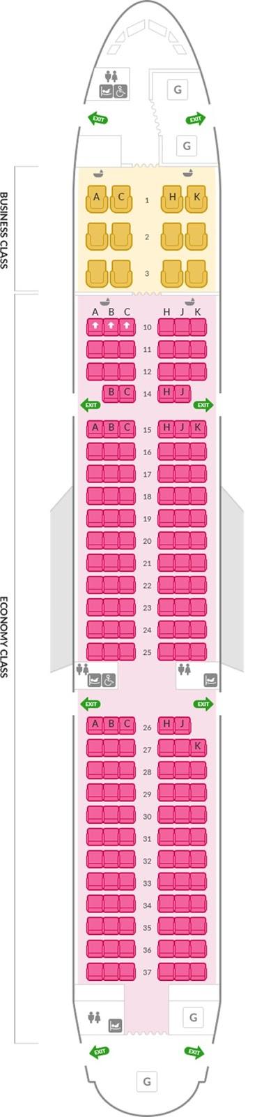 아시아나항공 A321 171석