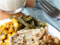 Crock Pot Chìcken and Stuffìng