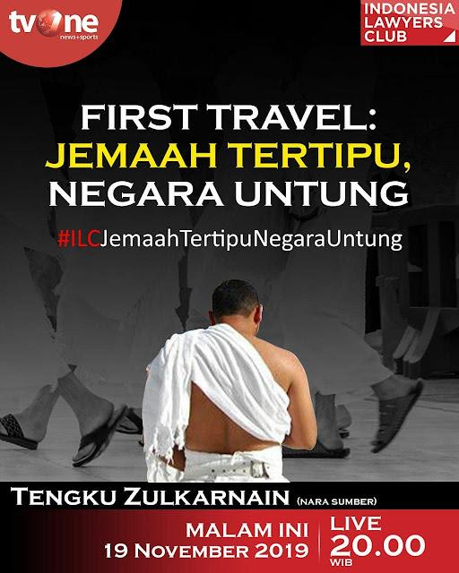 Ustadz Tengku Zulkarnain Soal First Travel