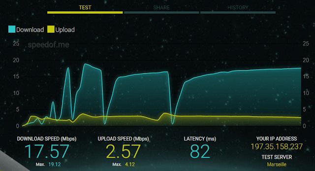 كيفية قياس سرعة النت بدقة عالية على جهازك