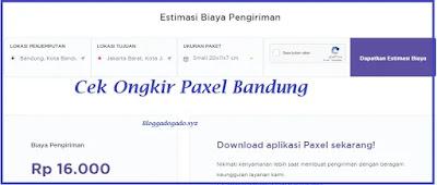 informasi mengenai paxel bandung terdekat lengkap dengan Alamat, nomor telepon, call center, cek tarif ongkir dan juga Jam buka