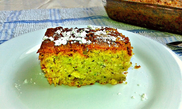 кабачковий італійський кекс