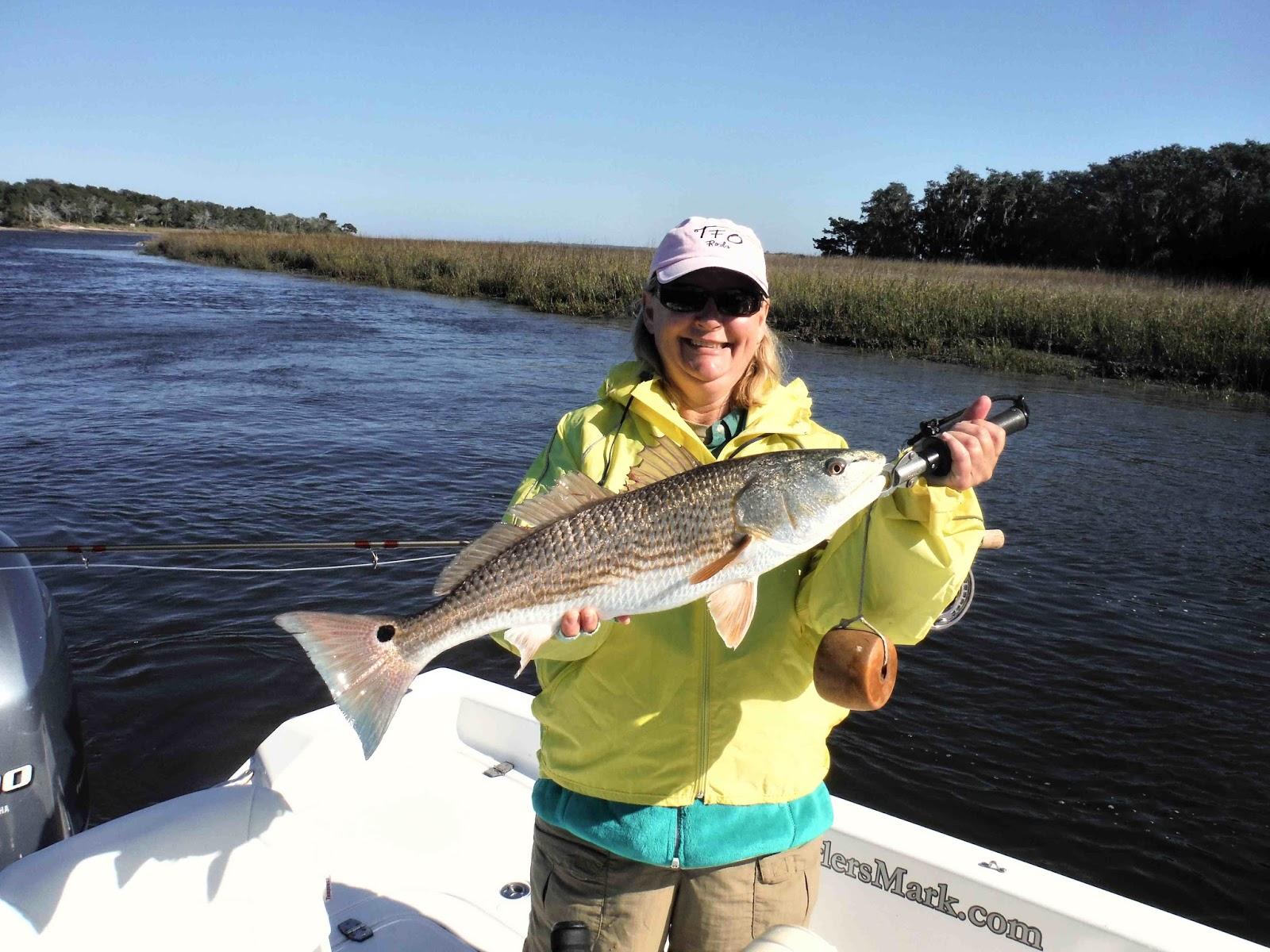 Amelia island fishing reports amelia island fly fishing slam for Amelia island fishing report
