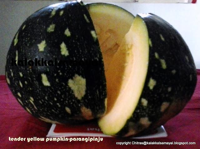 Parangikkai Pinju [ Tender Yellow Pumpkin ]