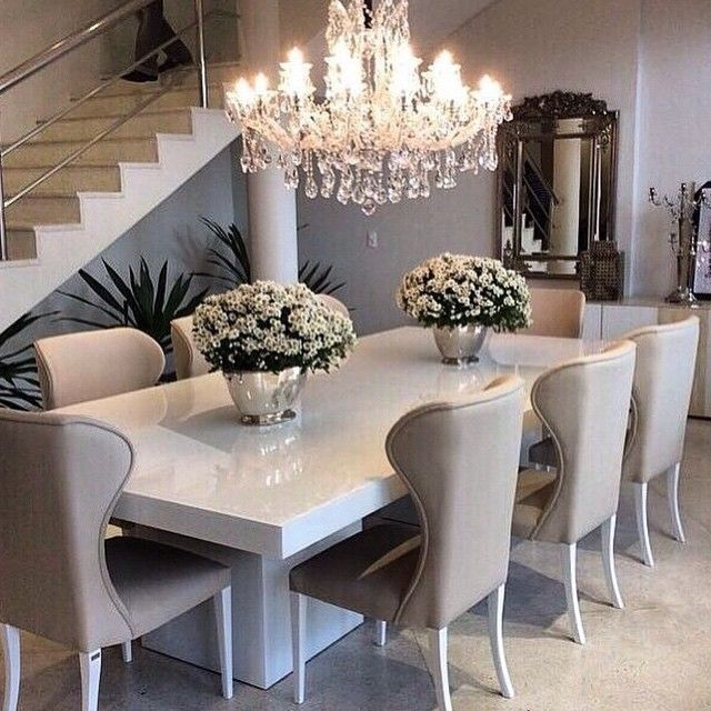 20 Pretty Cool Lighting Ideas For Contemporary Living Room: 20 Trends Designs For Dining Room Table