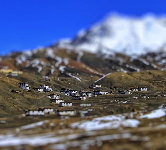 Langza village, spiti valley
