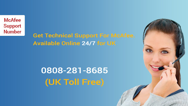 McAfee Phone Number UK