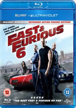 Fast and Furious 6 (2013) BRRip 400MB Hindi Dual Audio 480p