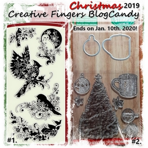 Creative Fingers Challenge Blog Candy