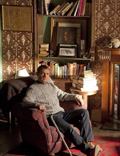 Martin Freeman as John Watson in A Study in Pink BBC Sherlock