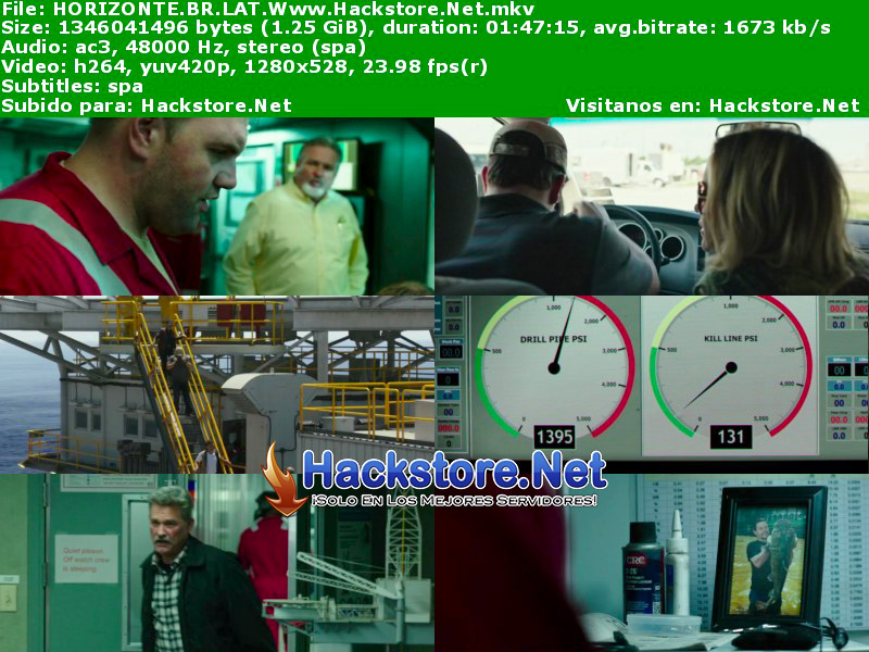 Capturas de Horizonte Profundo (2016) Blu-Ray RIP HD Latino + Subs