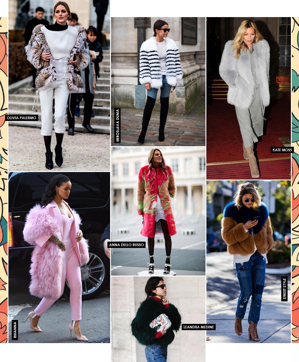 Cómo llevar abrigos de piel (sin añadirte años de más)