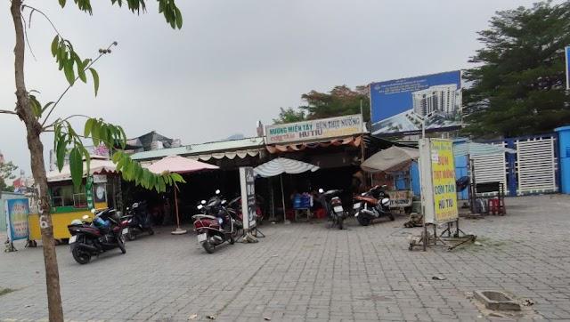 Địa chỉ quán Hương Miền Tây chuyên Bún thịt nướng, hủ tiếu, cơm tấm: Trần Não, Bình An, Quận 2