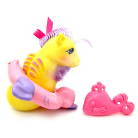 My Little Pony Sea Star Year Five UK Pretty and Pearly Baby Sea Ponies G1 Pony