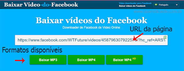 Como baixar video do Facebook rápido