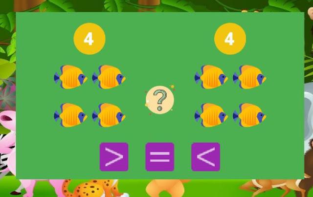 تطبيق رائع لتعليم الأطفال الجمع و الطرح و المقارنة و الحساب بطريقة سهلة باعتماد الصور 10