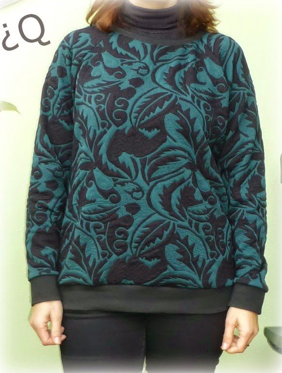 Linden sweatshirt sudadera grainline studio costura patron sewing pattern