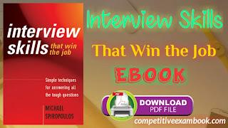 Interview Skills That Win the Job e-book pdf